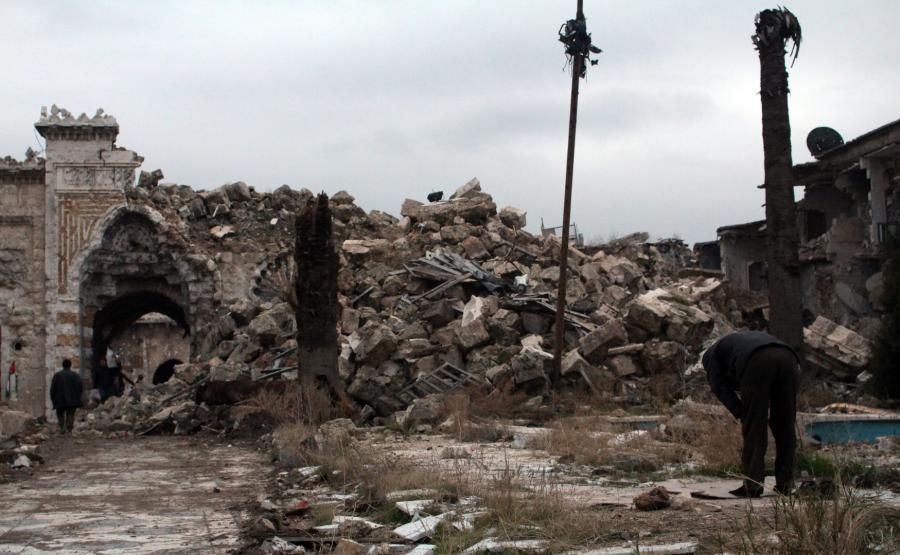 Ruiny Aleppo