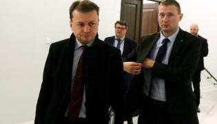Poseł PiS, minister spraw wewnętrznych i administracji Mariusz Błaszczak