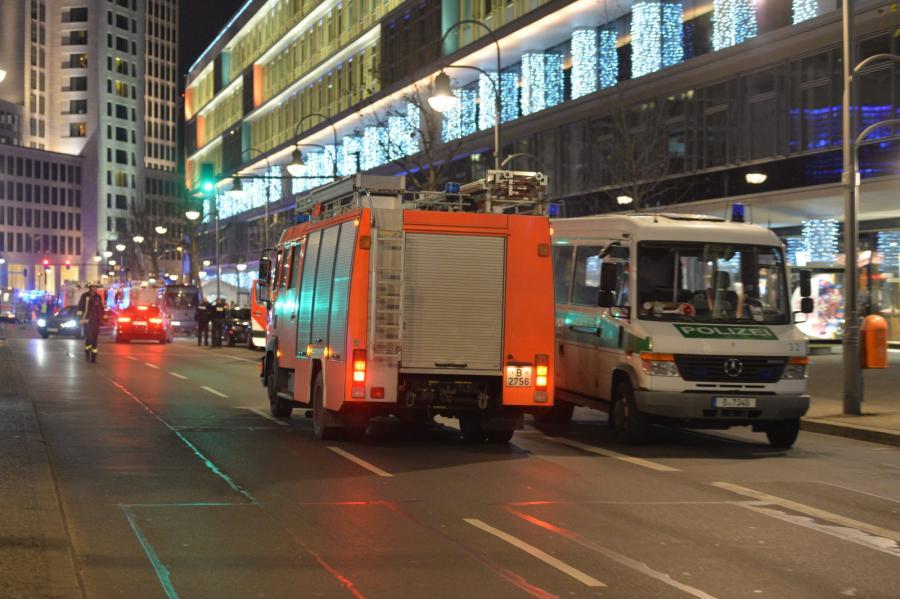 Akcja ratunkowa po ataku w Berlinie