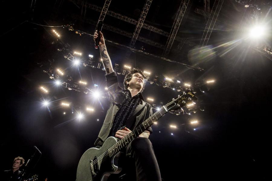 Green Day w Tauron Arena, w Krakowie, 21 stycznia 2017; fot. Kuba Ociepa