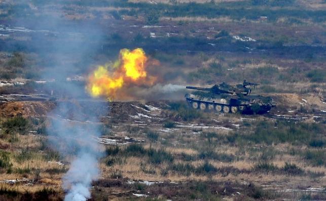 Polskie czołg PT-91 Twardy