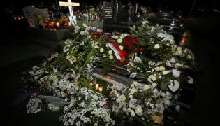 grób zamordowanej wolontariuszki