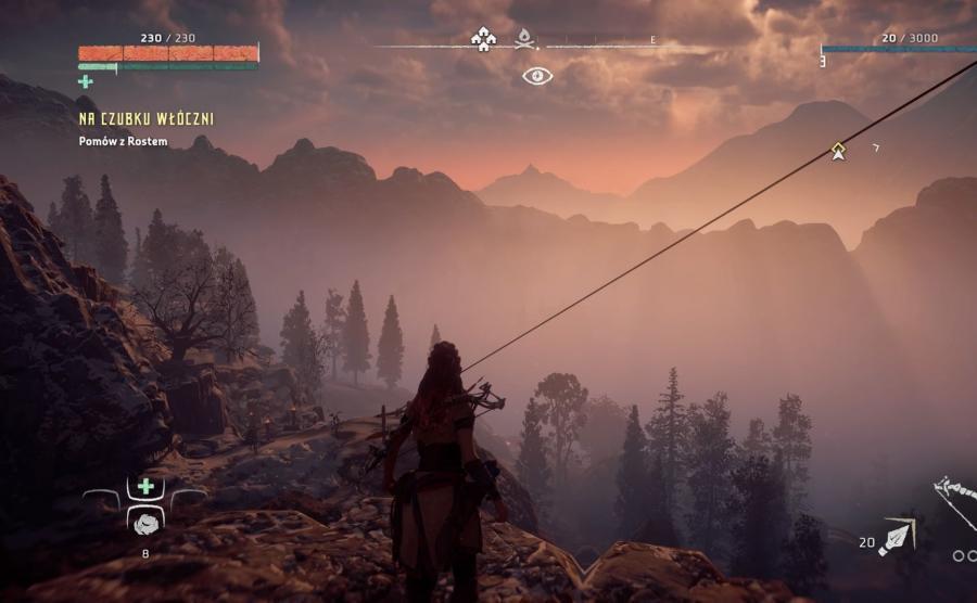 Przepiękne krajobrazy z gry