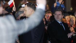 Andrzej Duda na spotkaniu
